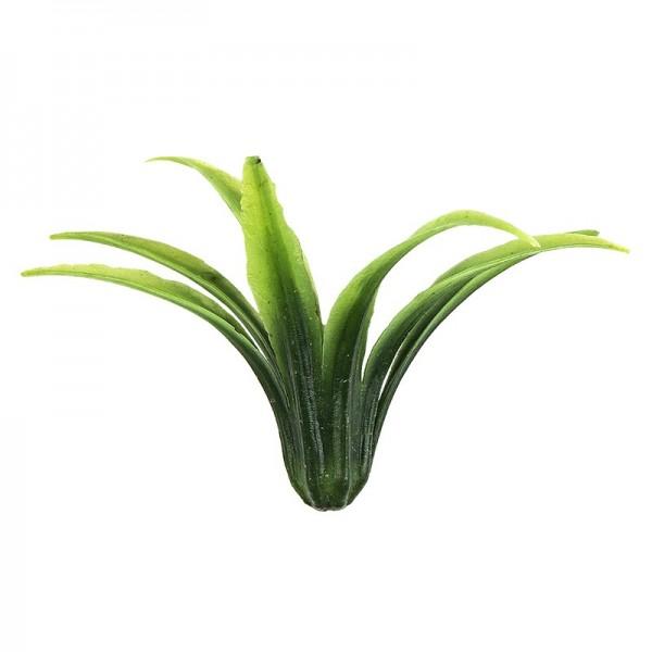 Deko-Gras in Schilf-Optik, Ø8cm, 16g, dunkelgrün