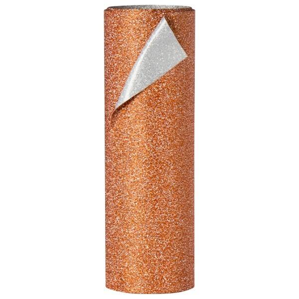 Diamant-Dekoband, 12 x 250 cm, kupfer