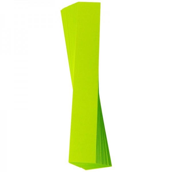 Papierstreifen, 6 x 50 cm, 120g/m², maigrün, 50 Stück