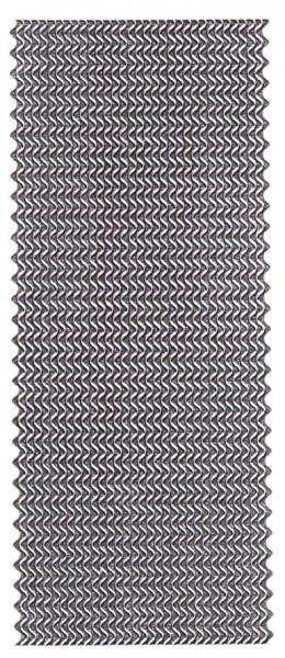 Microglitter-Sticker, Wellen-Bordüren, anthrazit