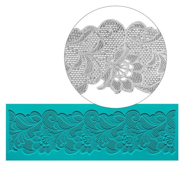 Silikon-Dekormatte, Design 35, 30cm x 10cm x 0,2cm