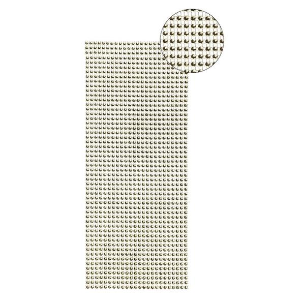 Schmuck-Netz, selbstklebend, 12 x 30 cm, gold, Design 10