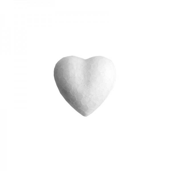 Styropor-Herzen, 4cm, 12 Stück