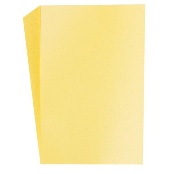 """Faltpapiere """"Nova 16"""", 10x15cm, 50 Stück, gelb"""