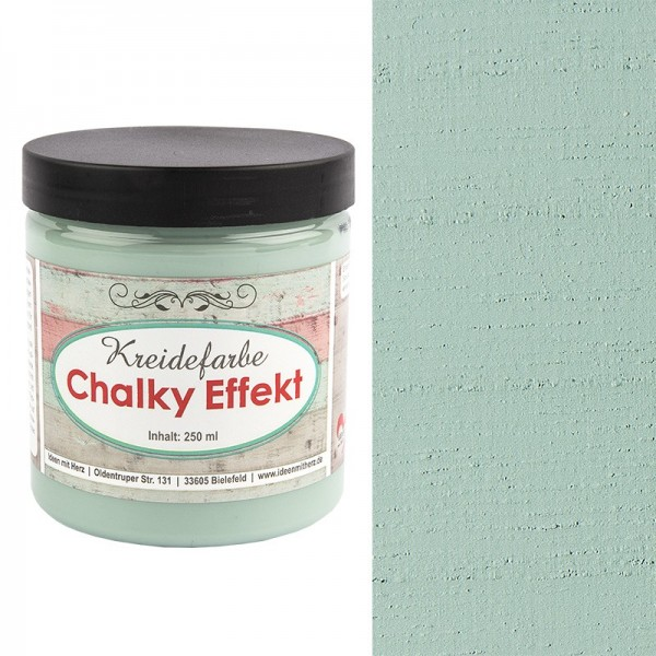 Chalky Effekt, Kreidefarbe, pastellgrün, 250ml