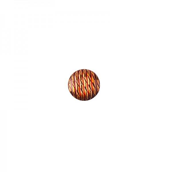 Hot-Fix Relief-Nieten zum Aufbügeln, Ø 6mm, orange, 200 Stück