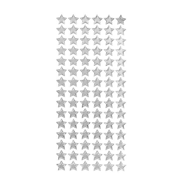 Sticker, Sterne 1, silber