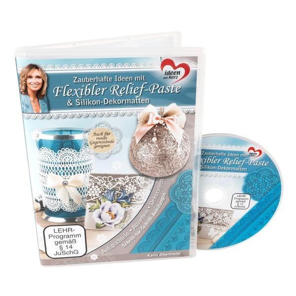 DVD Zauberhafte Ideen mit flexibler Relief-Paste & Silikon-Dekormatten, 60 Minuten