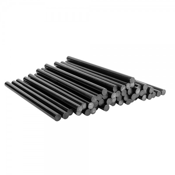 Universal Heißklebepatronen, schwarz, Ø 1,1cm, 20cm lang, 50 Stück