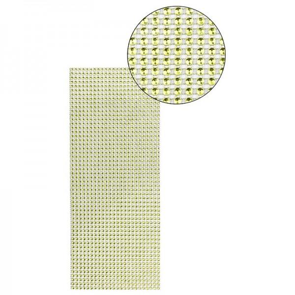Schmuck-Netz, selbstklebend, 12cm x 30cm, maigrün