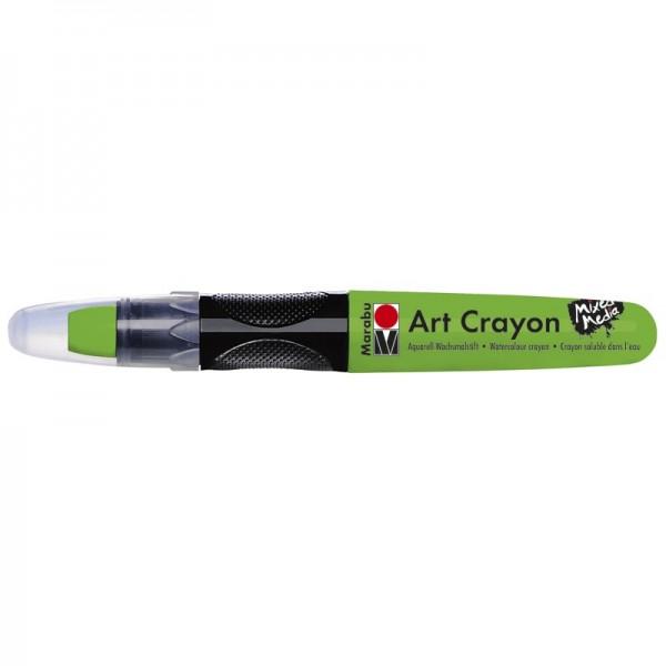 Marabu Art Crayon/Aquarell-Wachsmalstift, wasserlöslich, kiwi
