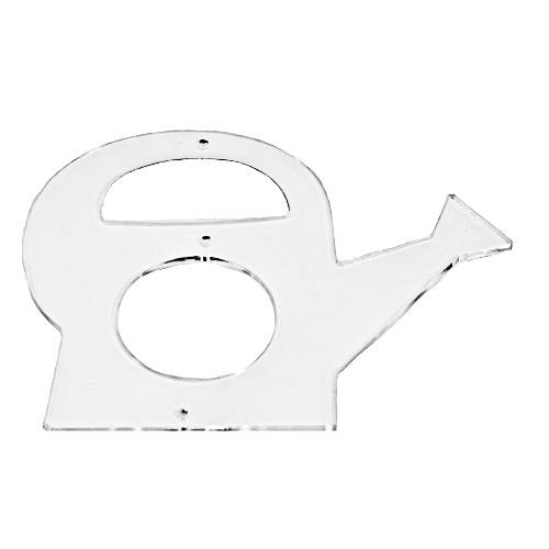 Acryl-Anhänger, Gießkanne, 7,5 x 9 cm