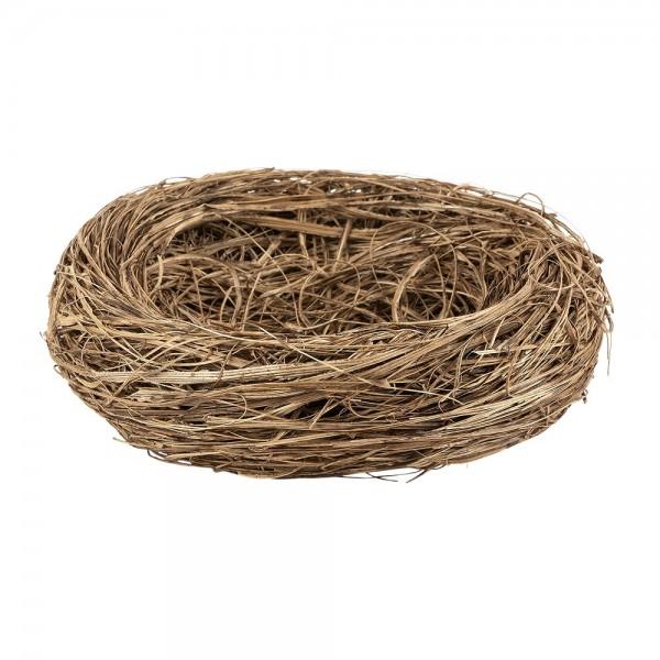 Gras-Nest, Ø 10cm, 3,5cm hoch