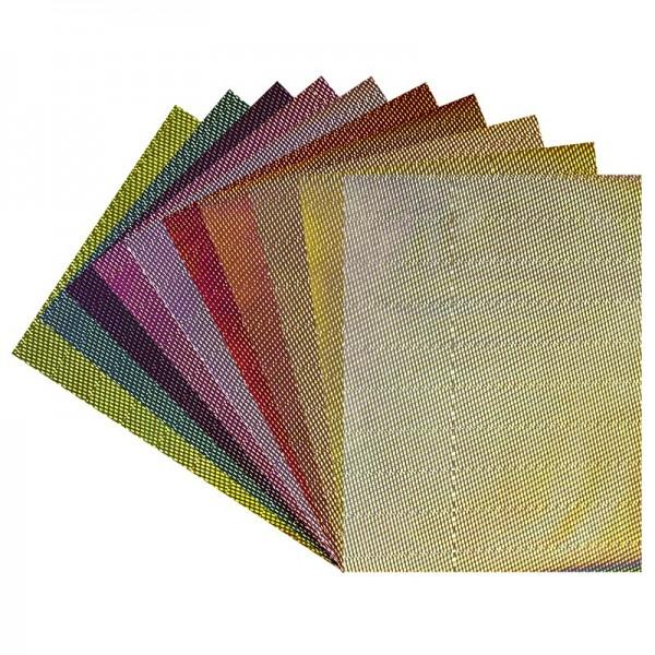"""Deko-Papier """"Laserpoints"""", Holografiefolie, selbstklebend, DIN A4, 10 Bogen"""