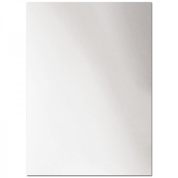 Spiegel-Karton, 21cm x 29cm, 200g/m², silber, 10 Bogen