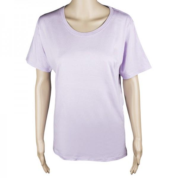 Damen T-Shirt, flieder, Größe 3XL
