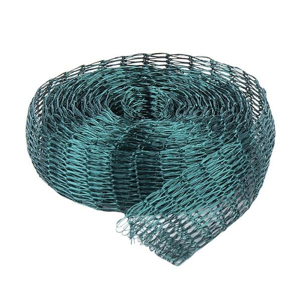 Titan-Mesh Collier-Band, 1 cm x 1 m, dunkelgrün