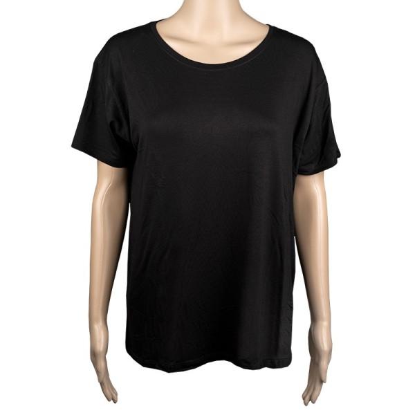Damen-T-Shirt, Größe XL, schwarz