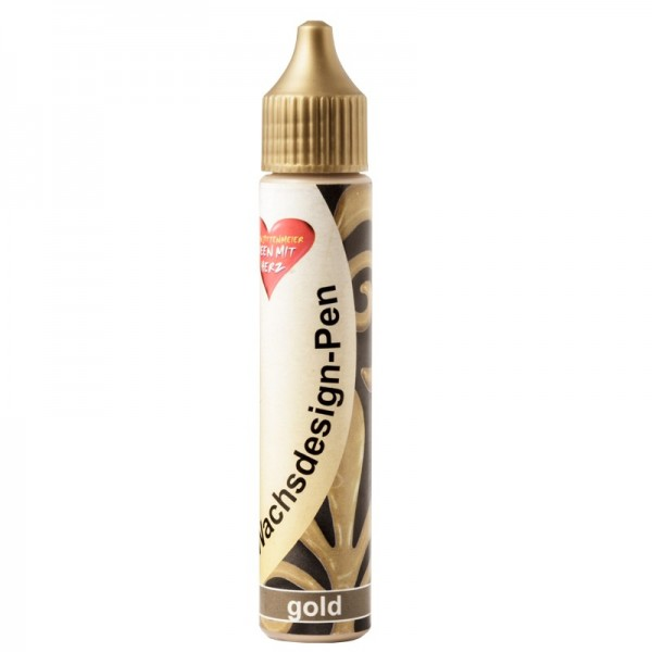 Wachsdesign-Pen, 30 ml, gold