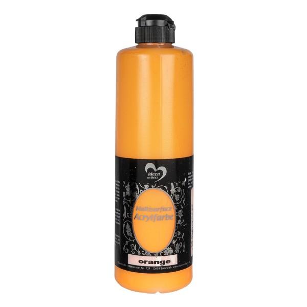 "Acrylfarbe ""Multisurface"", orange, 500ml"