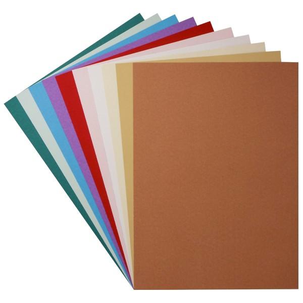 "Design-Karton, ""Florida"", Din A4, 10 Farben, 30 Bogen"