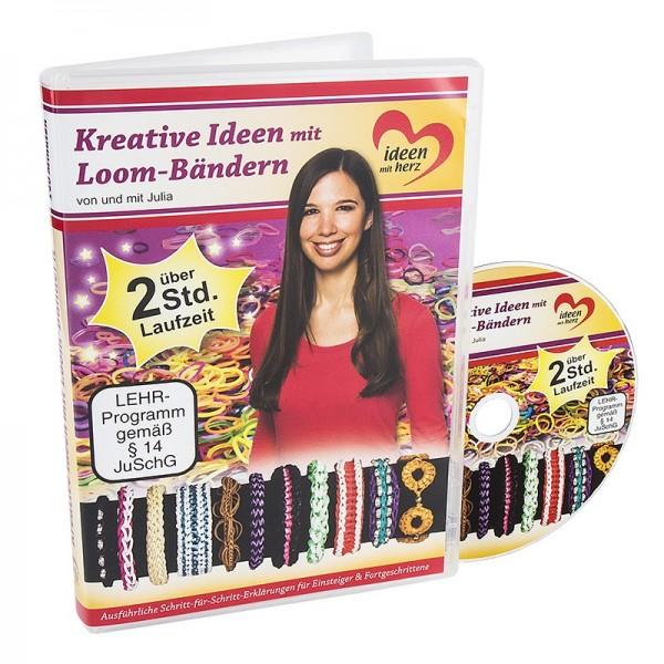 DVD, Kreative Ideen mit Loom-Bändern, Julia, 140 Min.
