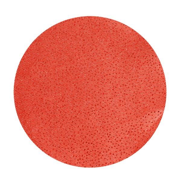 Satin-Kreise, Ø6cm, 50 Stück, Folien-Print-Punkte, rot