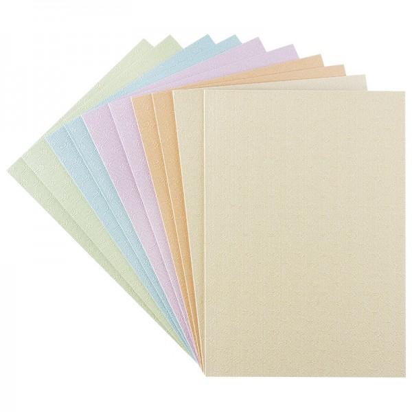 """Grußkarten """"Wien"""", B6, Pastelltöne, inkl. Umschläge, 10 Stück"""