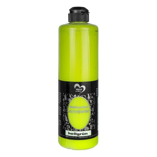"""Acrylfarbe """"Multisurface"""", hellgrün, 500ml"""
