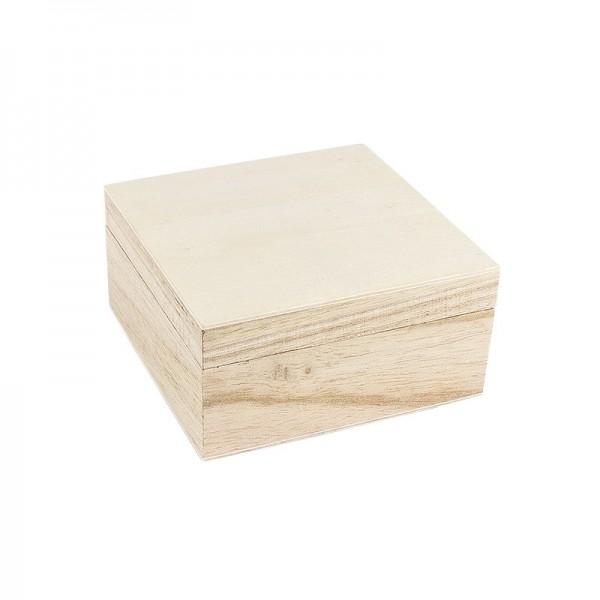 Aufbewahrungsbox aus Holz, Kiste, 5cm x 10cm x 10cm