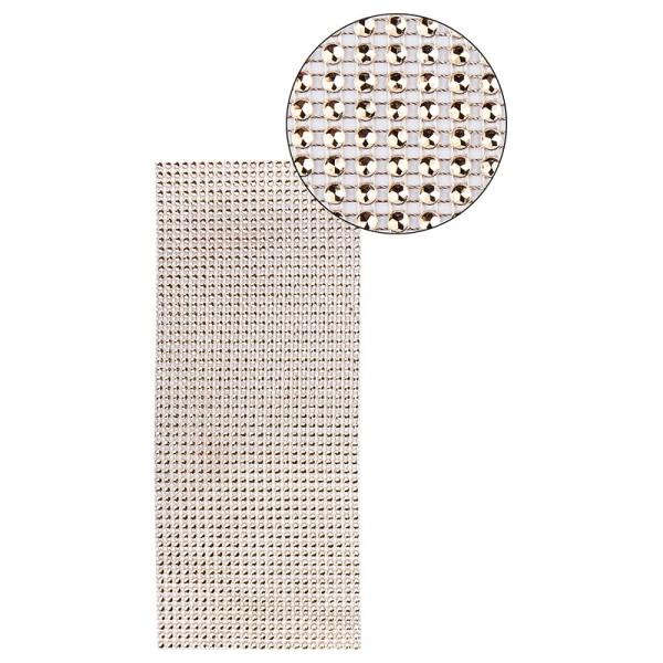 Schmuck-Netz, selbstklebend, 12cm x 30cm, hellbraun