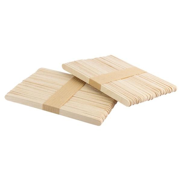 Holzstäbchen, 14cm lang, 1cm breit, 100 Stück