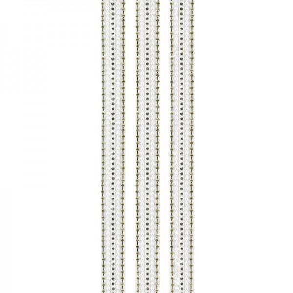 """Premium-Schmuck-Bordüren """"Glamour 3"""", selbstklebend, 29cm, gold/perlmutt"""