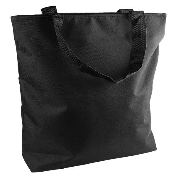 Tasche Meike, 40cmx41cm, Polyester, schwarz