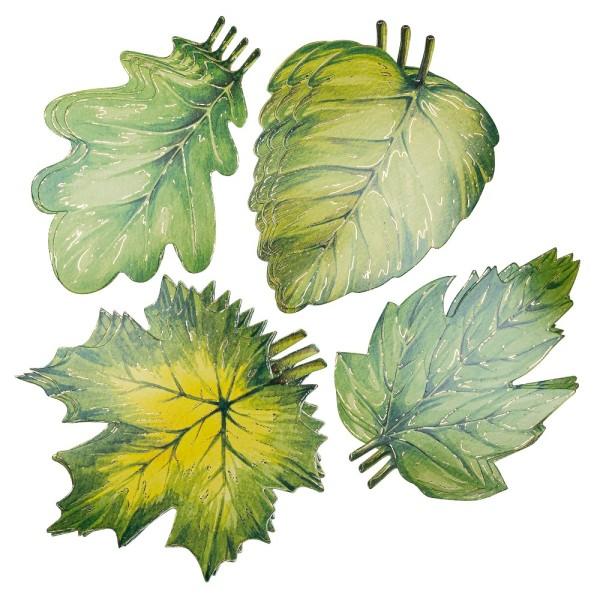 Kartenaufleger, Blätter, 10 bis 15 cm, 20 Stück
