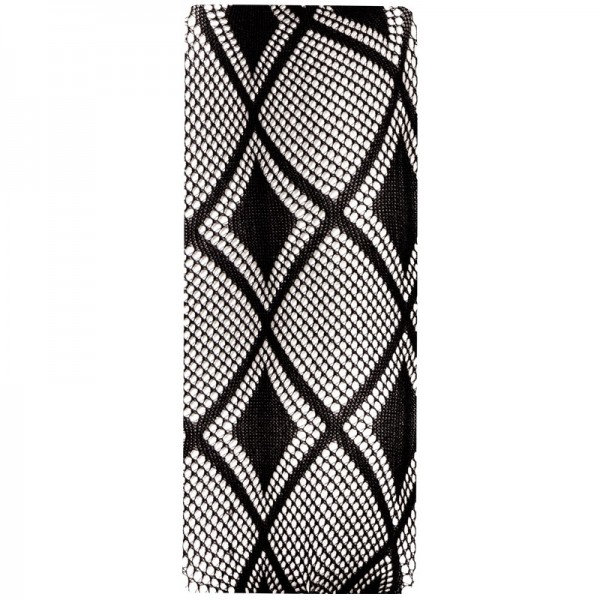 Spitzen-Überzug, Design 1, schwarz