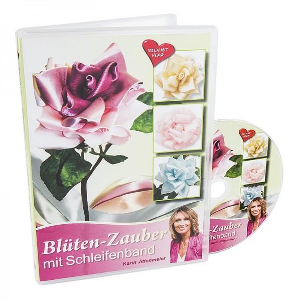 DVD, Blüten-Zauber mit Schleifenband, Karin Jittenmeier, 100 min