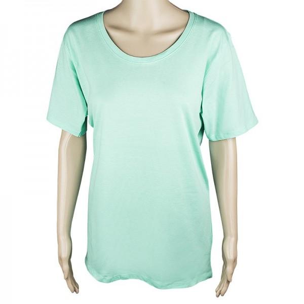 Damen T-Shirt, mint, Größe XXL