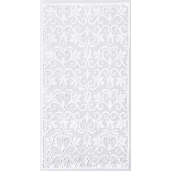 Noblesse Zierdeckchen 6, Transparentpapier, 13,5cm x 8,5cm, weiß, 20 Stück