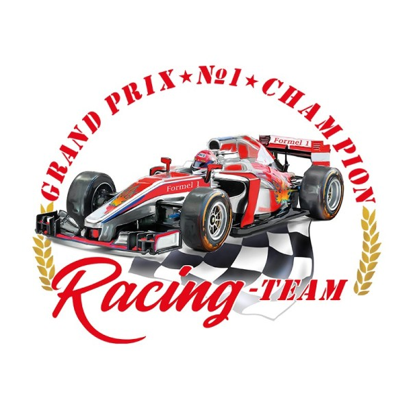 Color Bügeltransfers, DIN A4, Formel 1 Sport & Hobby