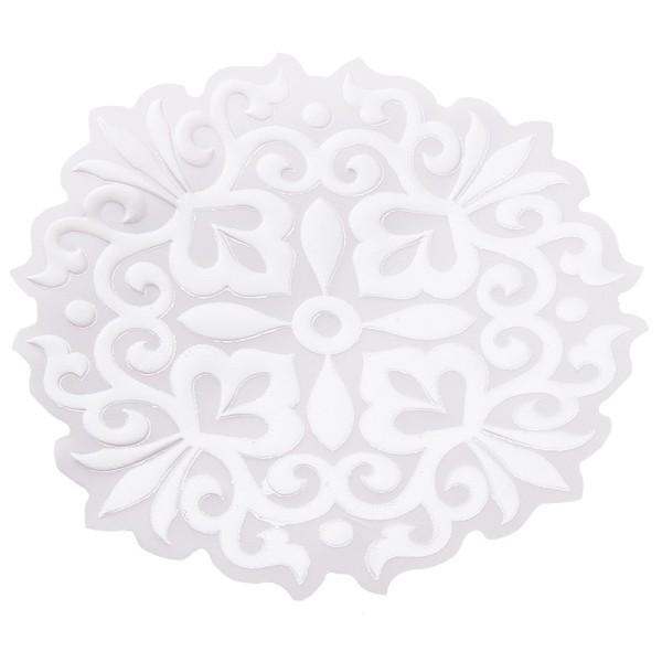 Noblesse Zierdeckchen 3, Transparentpapier, Ø 13cm, weiß, 20 Stück