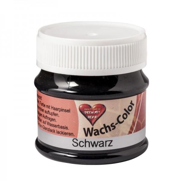 Wachs-Color 50 ml, Schwarz