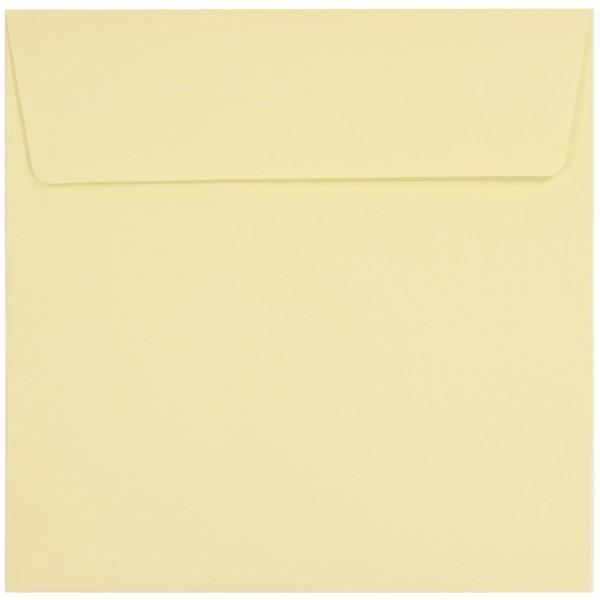 Umschläge, selbstklebend, 17 x 17 cm, lindgrün, 20er Set