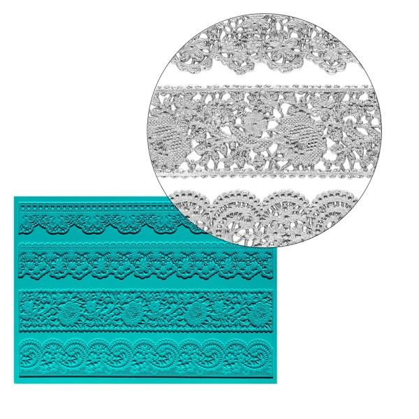 Silikon-Dekormatte, Design 44, 20,9cm x 15cm x 0,2cm