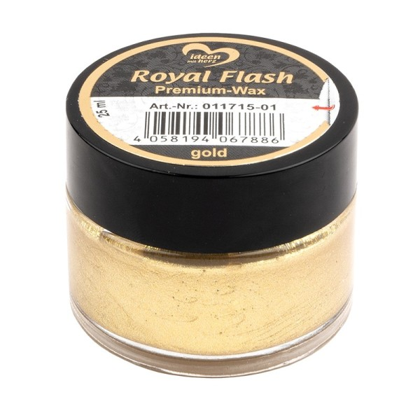 Royal Flash, Premium-Wax, gold, 25ml