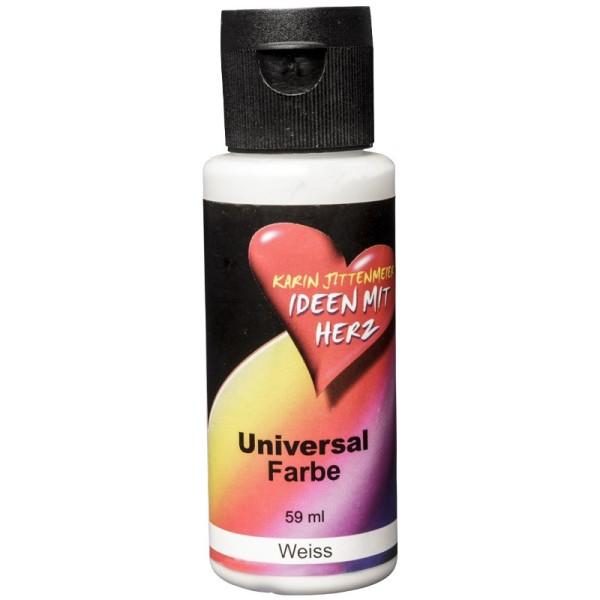 Universal Farbe, 59 ml, Weiß