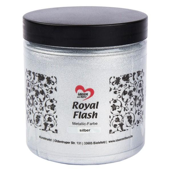 "Metallic-Farbe ""Royal Flash"", silber, 250 ml"