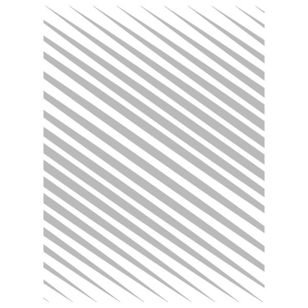 Metallic-Bügeltransfer, Hintergrund, Diagonale Streifen, 25cm x 34cm, silber glänzend