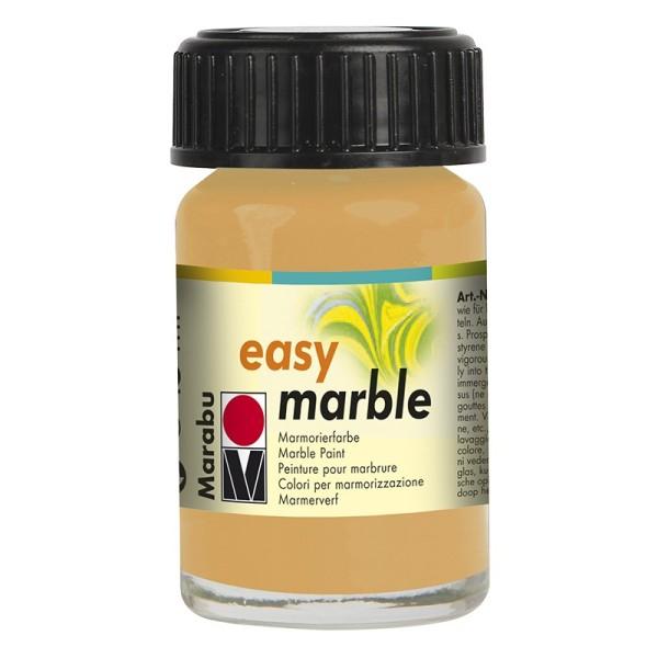 Marmorierfarbe, Marabu easy marble, 15 ml, gold