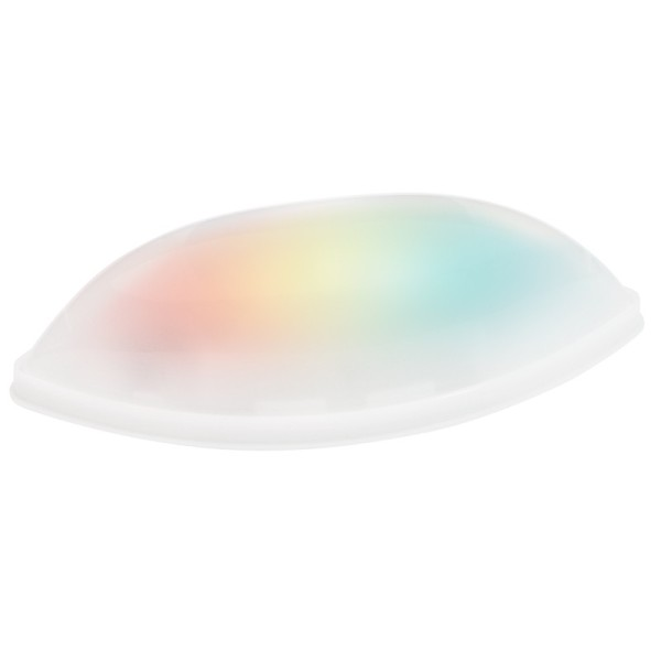 LED-Navette-Leuchten mit 3 LED-Lämpchen, 13cm x 5cm, 3 Stück, mit Farbwechsel